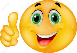 16515884-Emoticon-smiley-with-thumb-up-Banque-d'images
