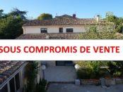 Maison compromis de vente Uchaud