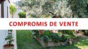 Villa en compromis de vente