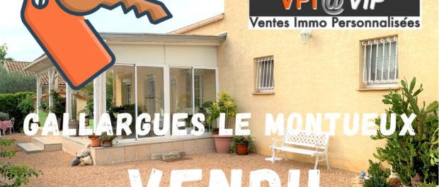 Vendu à Gallargues le Montueux 30660